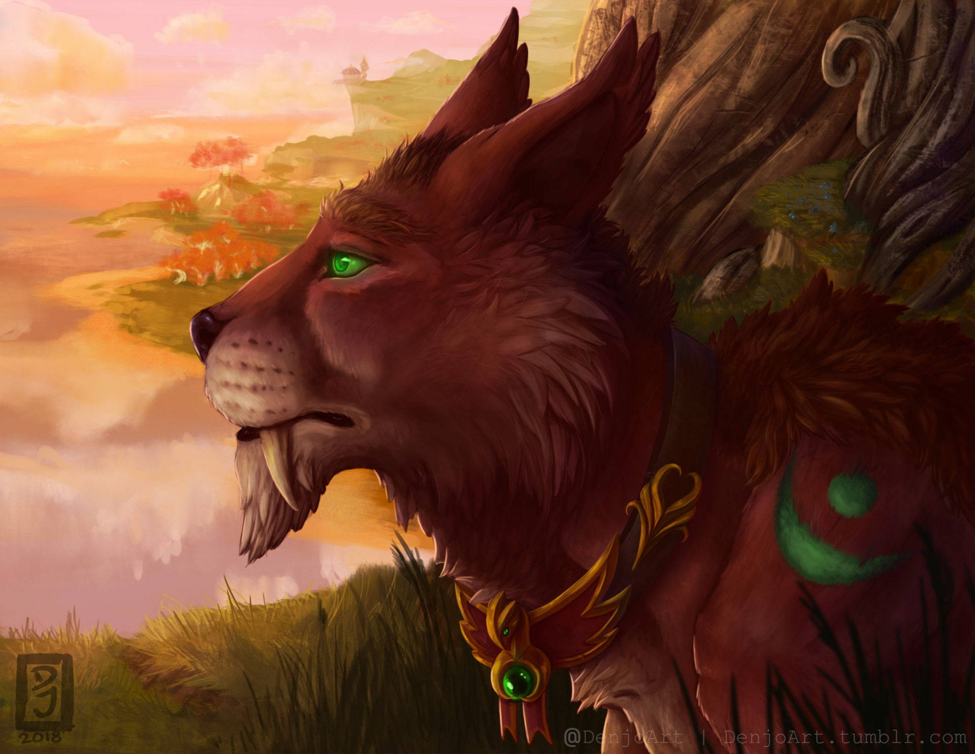 Blood elf druid | Cat form : wow