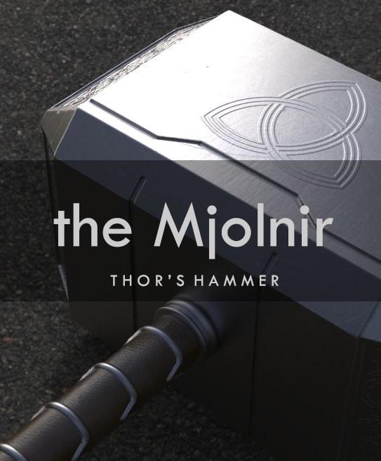 Artstation The Mjolnir Thor S Hammer Marvel Muhammed Mahrous