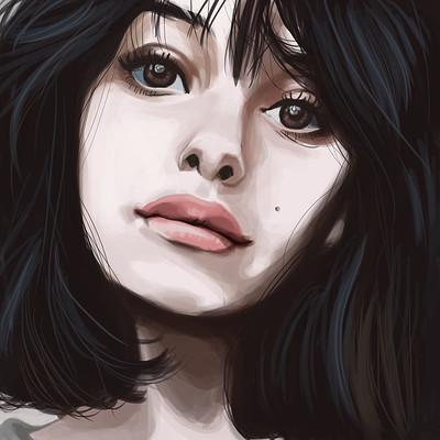 Natasza remesz portret dziewczyna