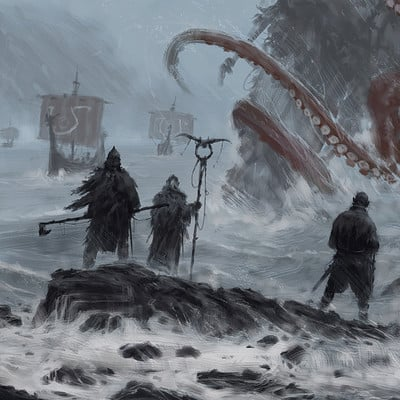Jakub rozalski ymaar the ancient protector