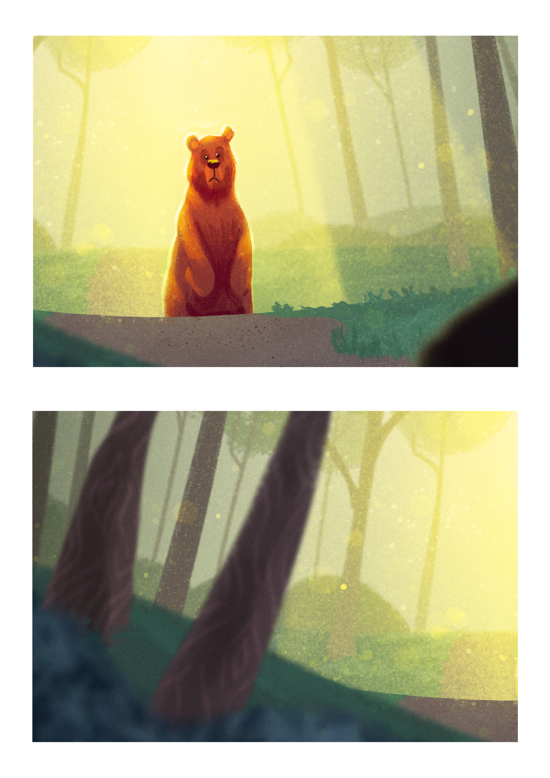 """I leave you some extended details :)  I'm very happy with the """"little"""" work I did in the bear!"""