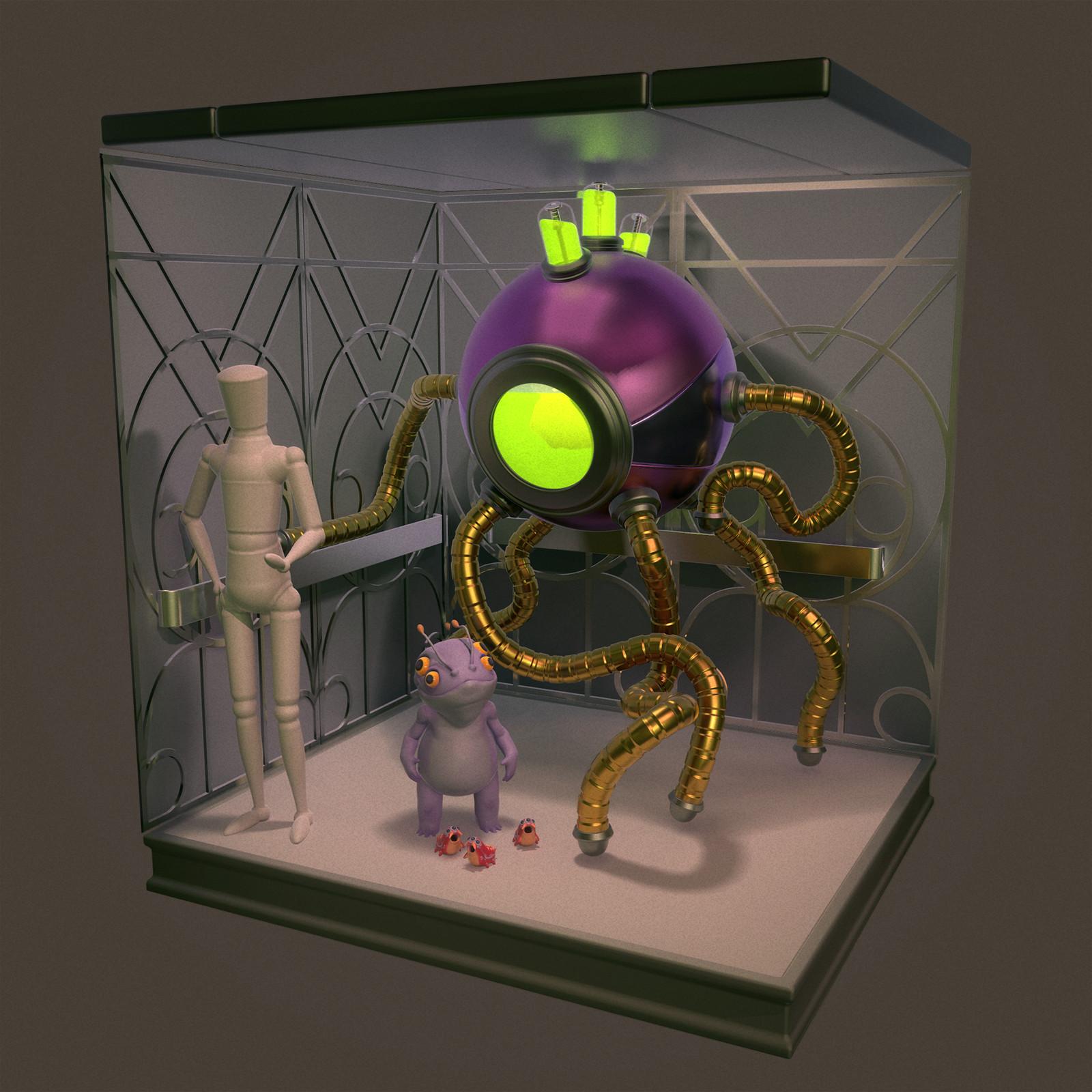 Alien Elevator