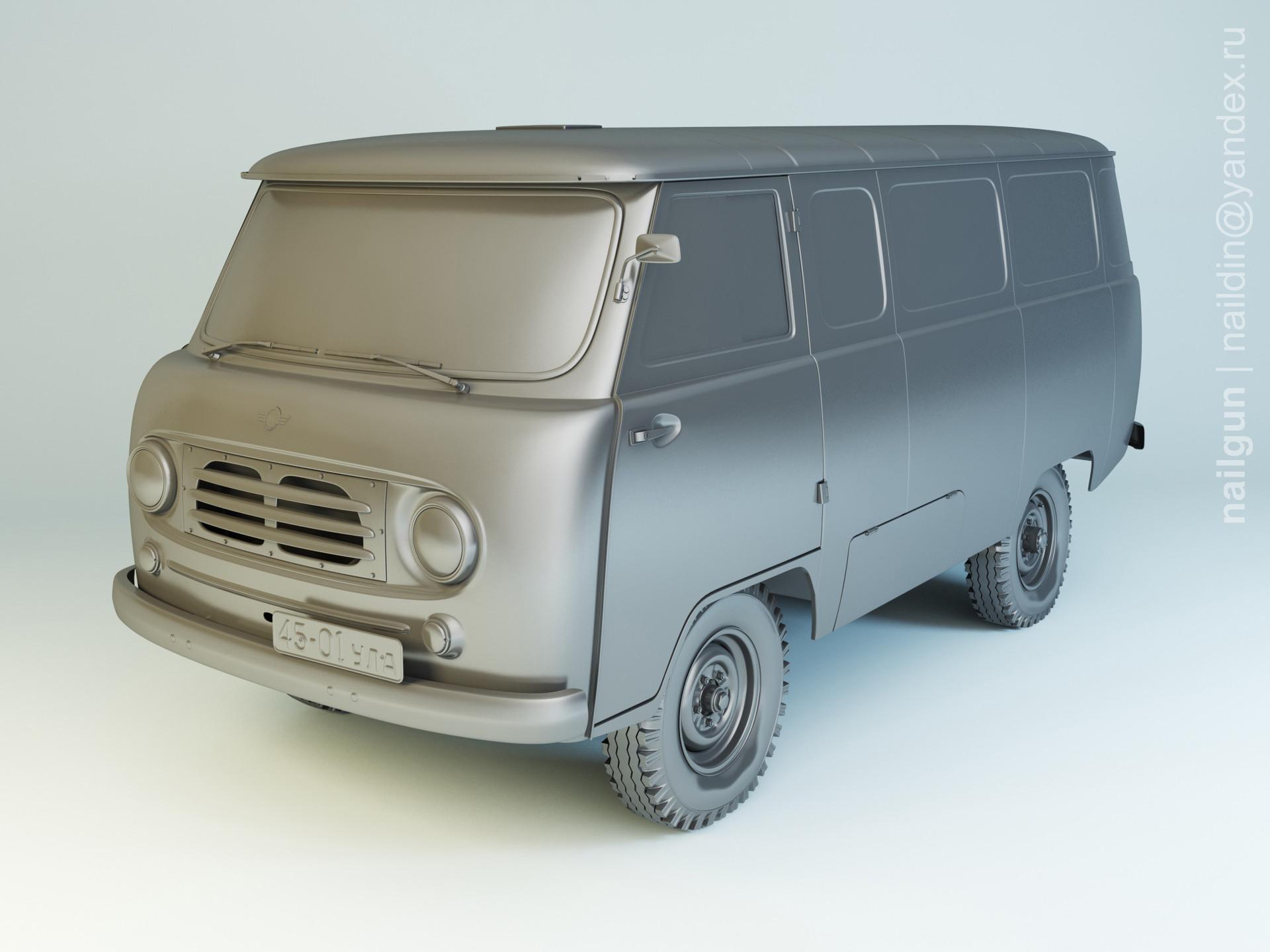 Nail khusnutdinov als 191 001 uaz 450 modelling 0