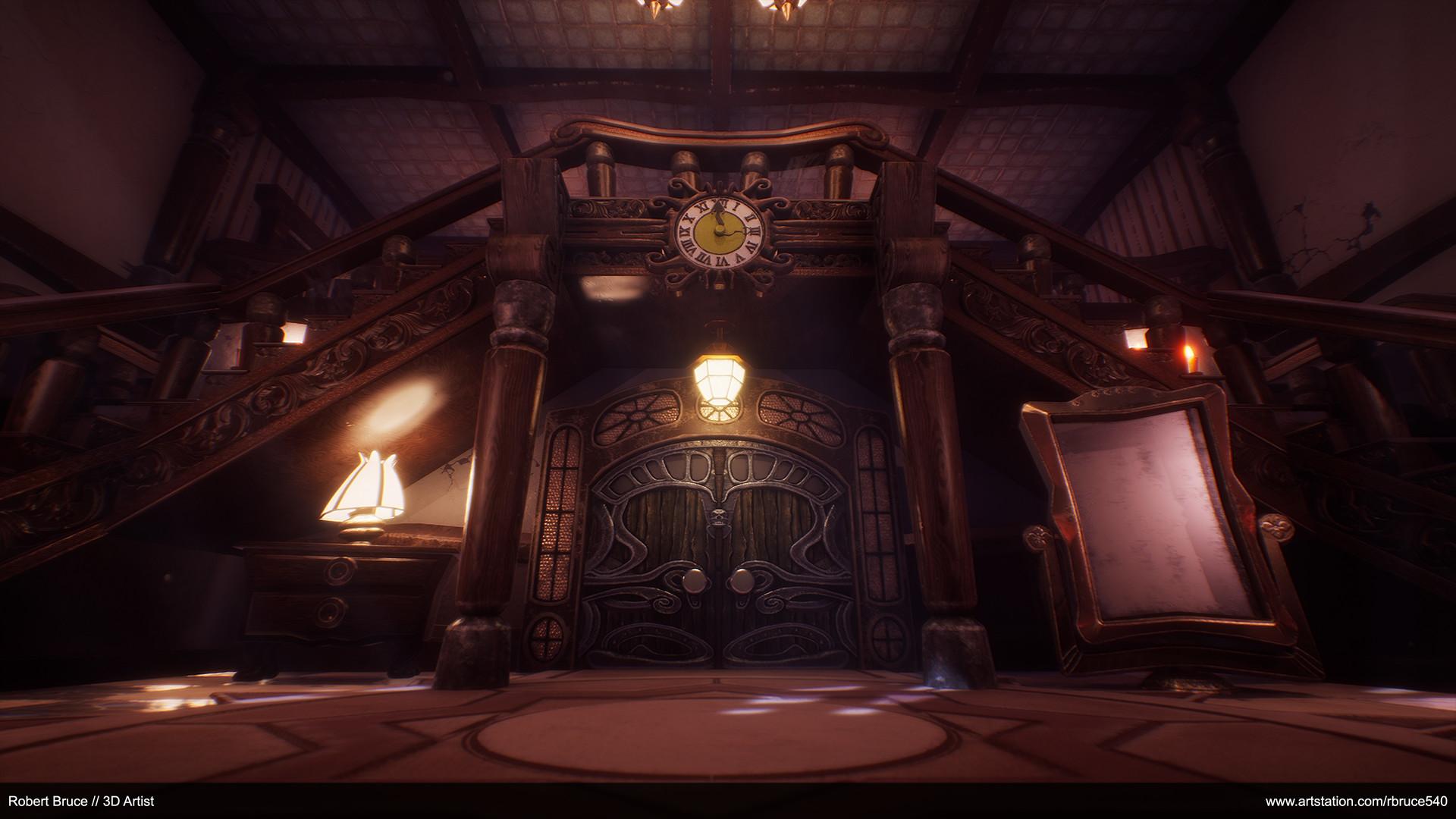 Spooky Door - Luigi's Mansion Remake