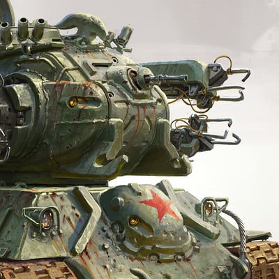 Michal kus project1952 tesla tank final