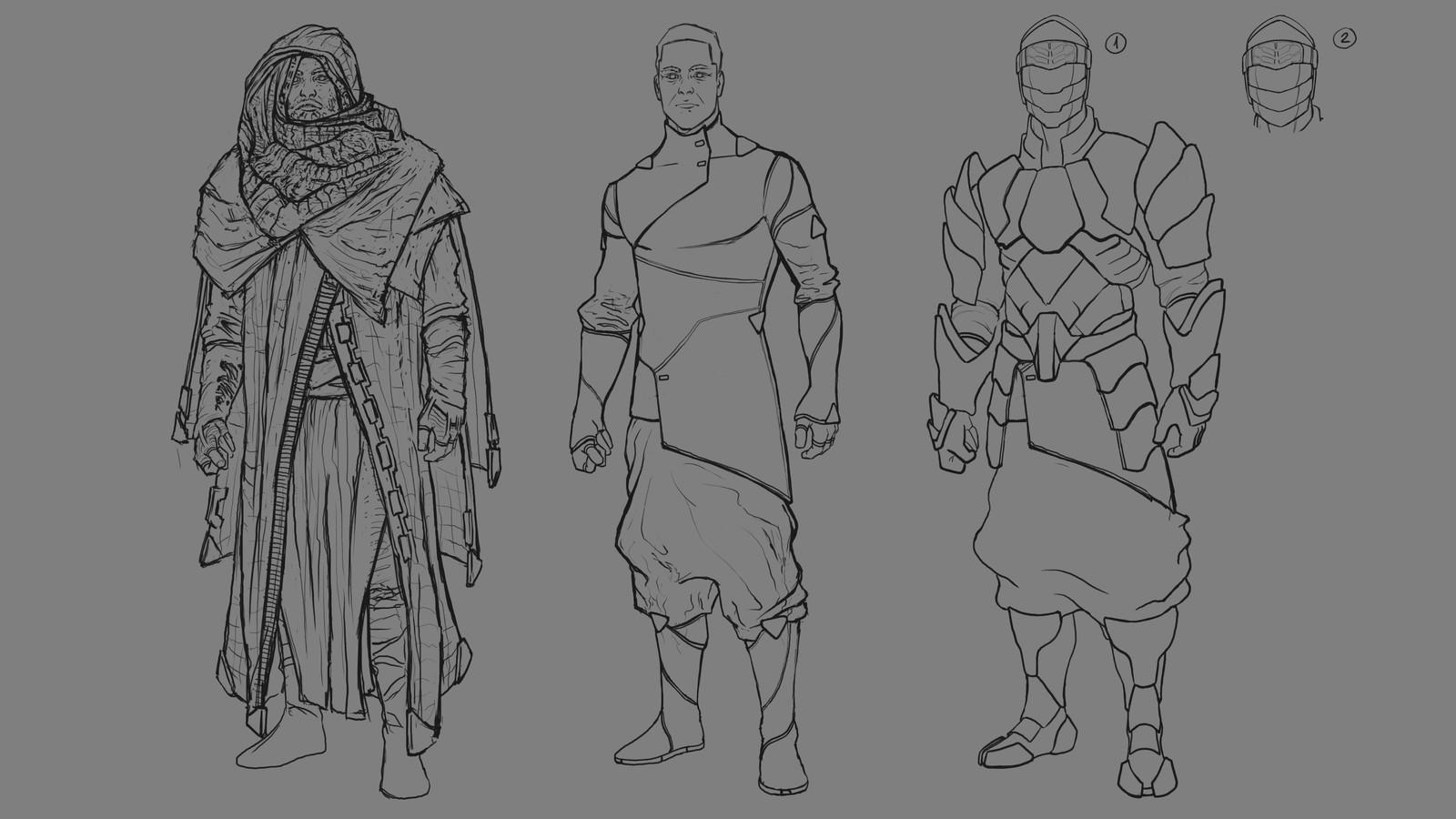 Sholem: Character Design