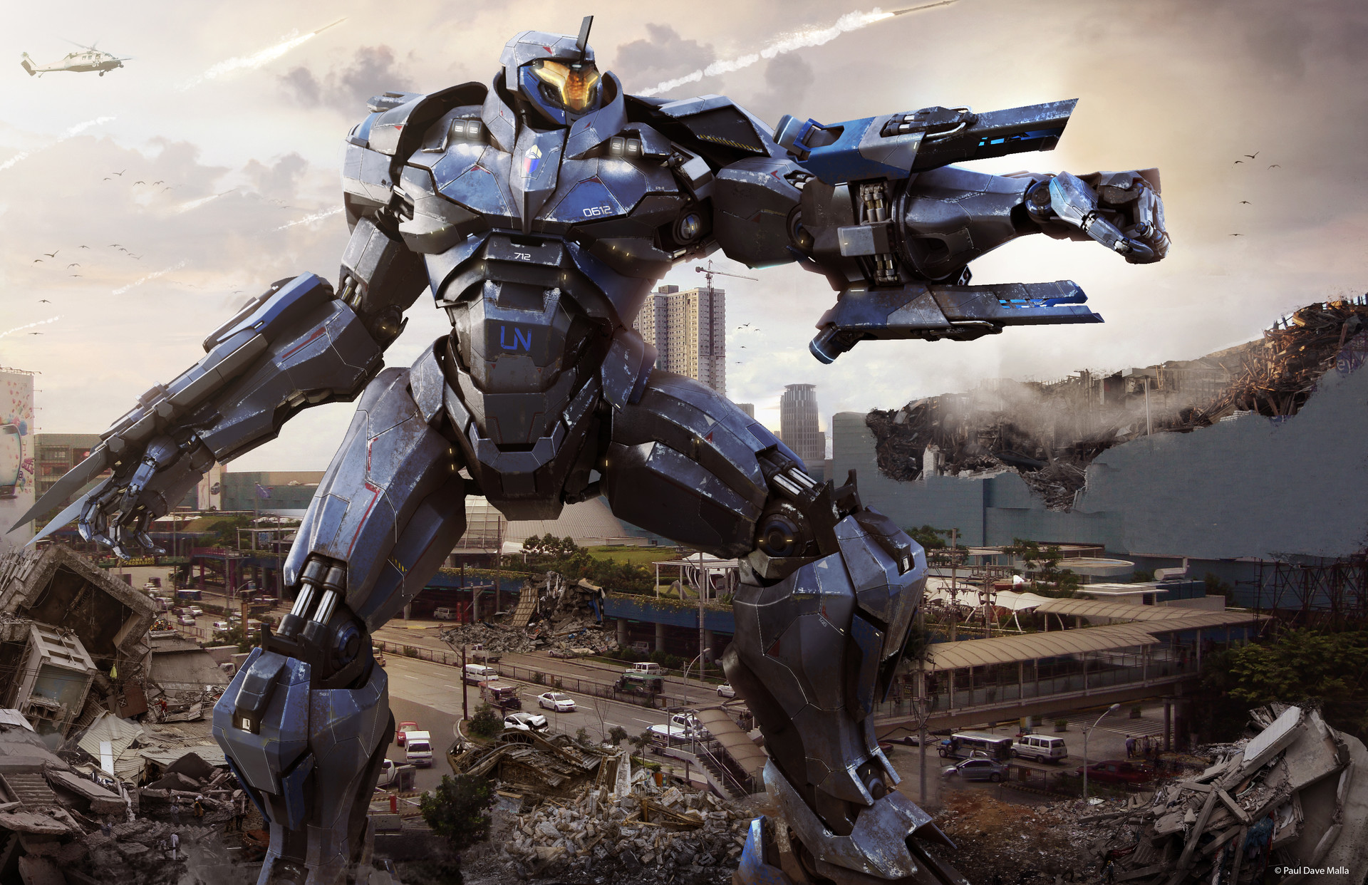 artstation astrion m5 jaeger pacific rim paul dave malla