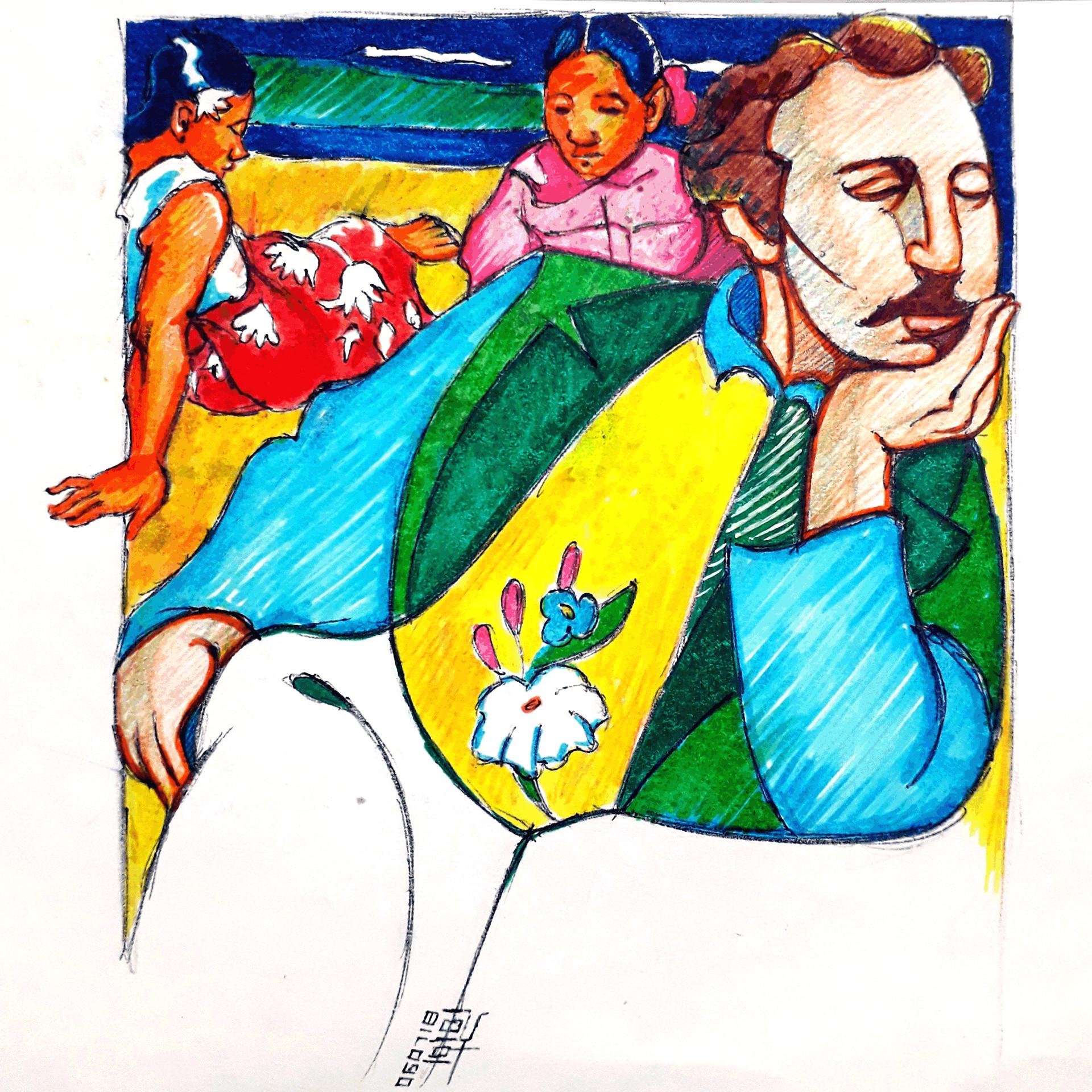 Day 06-07-18 - Gauguin