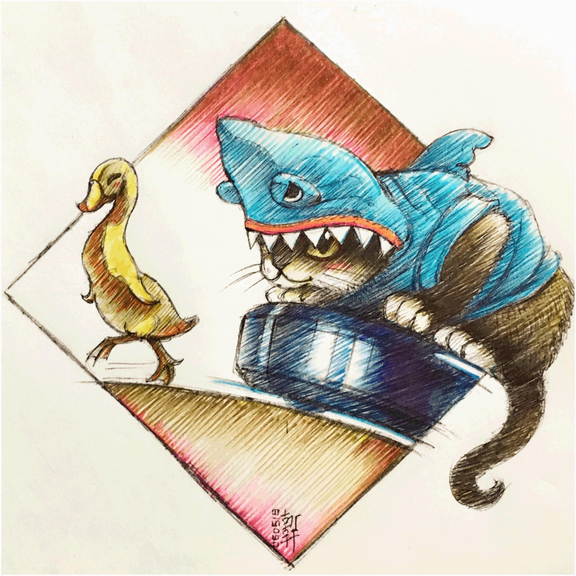 E lynx lin maxroombasharkcat