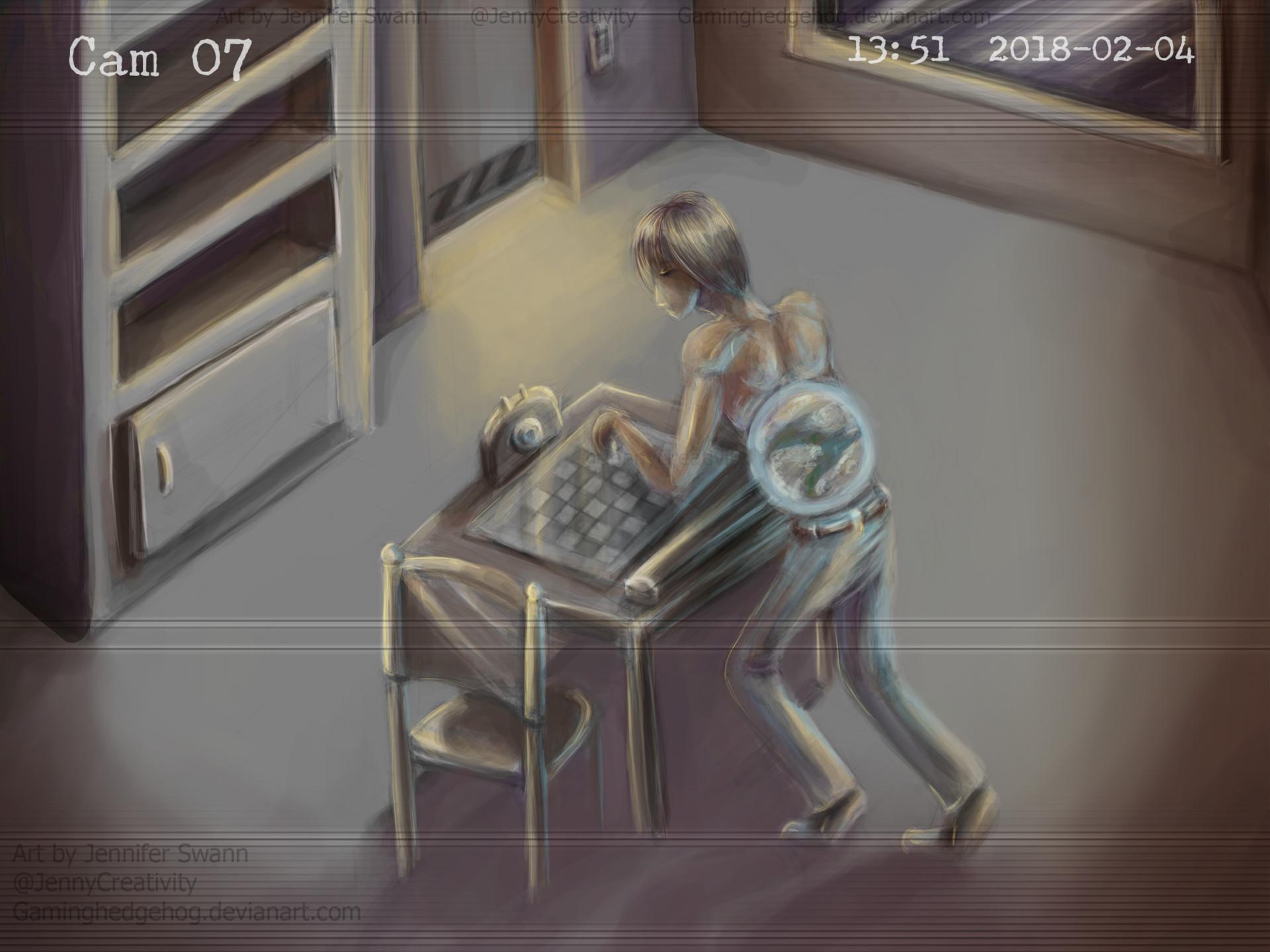 ArtStation - SCP Art: SCP-007 - Abdominal Planet, Jennifer ...