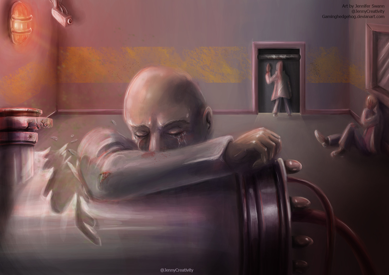 ArtStation - SCP Art: SCP-008 - Zombie Plague, Jennifer Swann