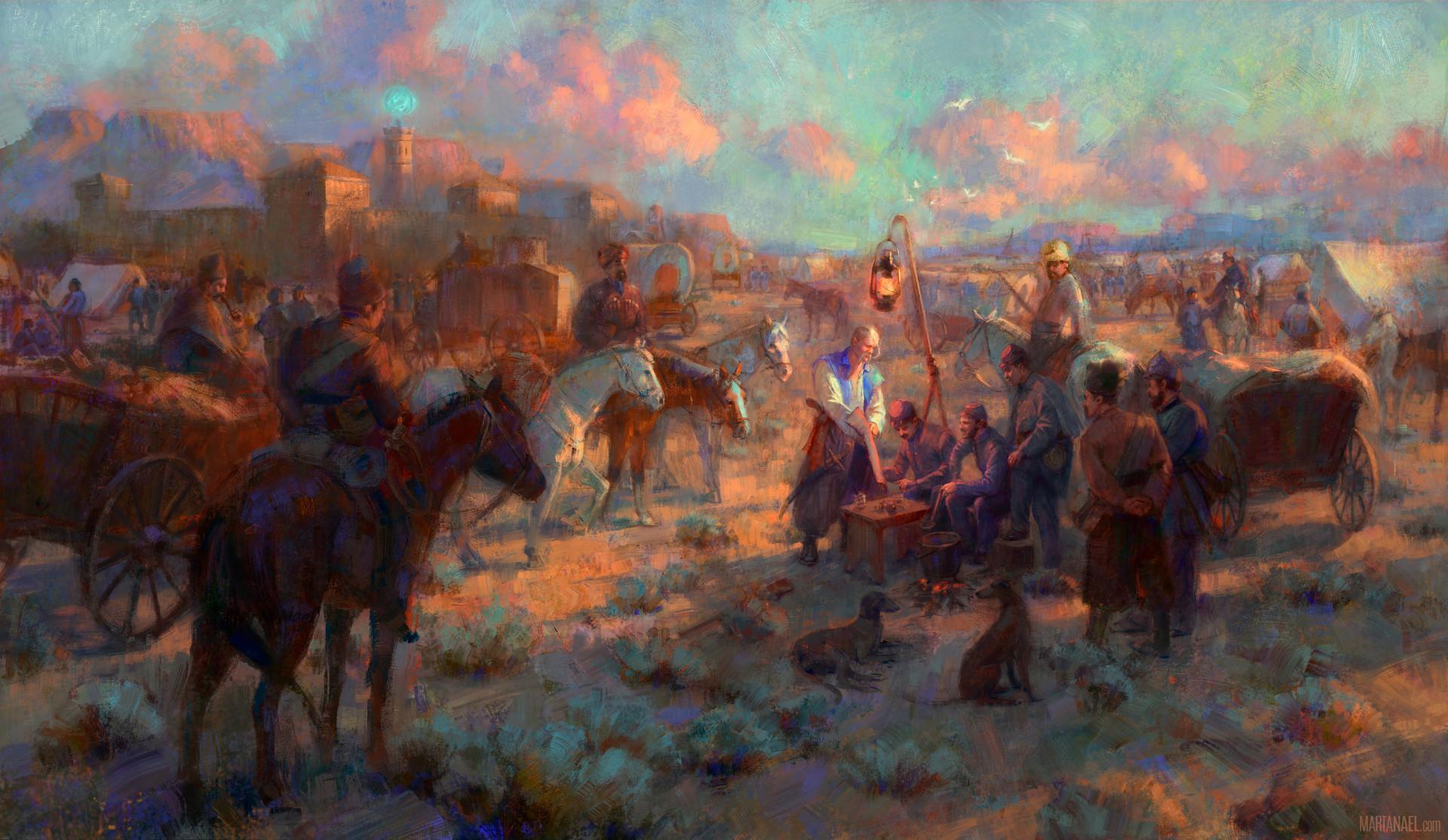 Marta nael cossacks landscape v07 firma