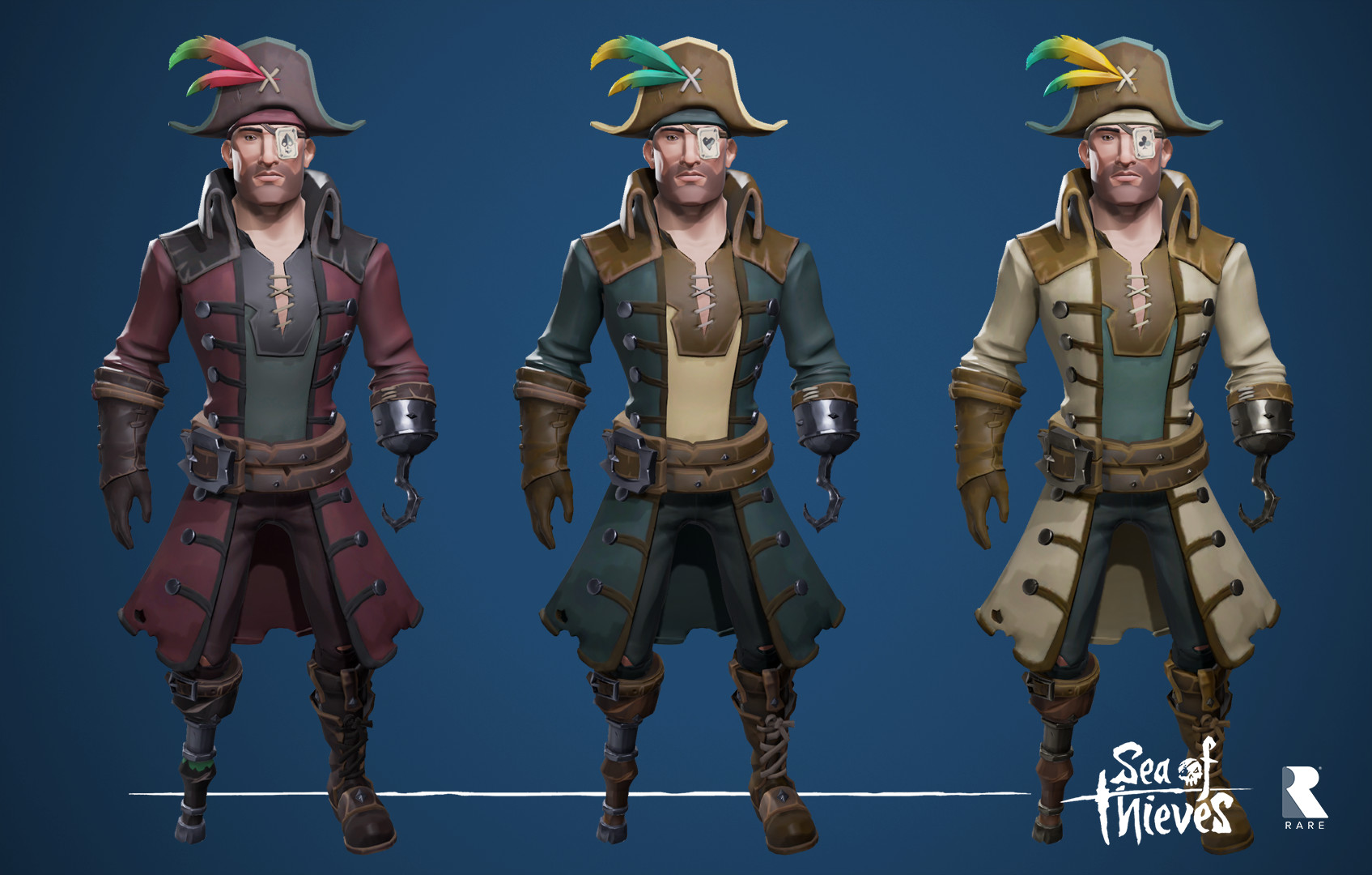 b89bdd4ec75 ArtStation - Sea of Thieves - Base Sets, Josh