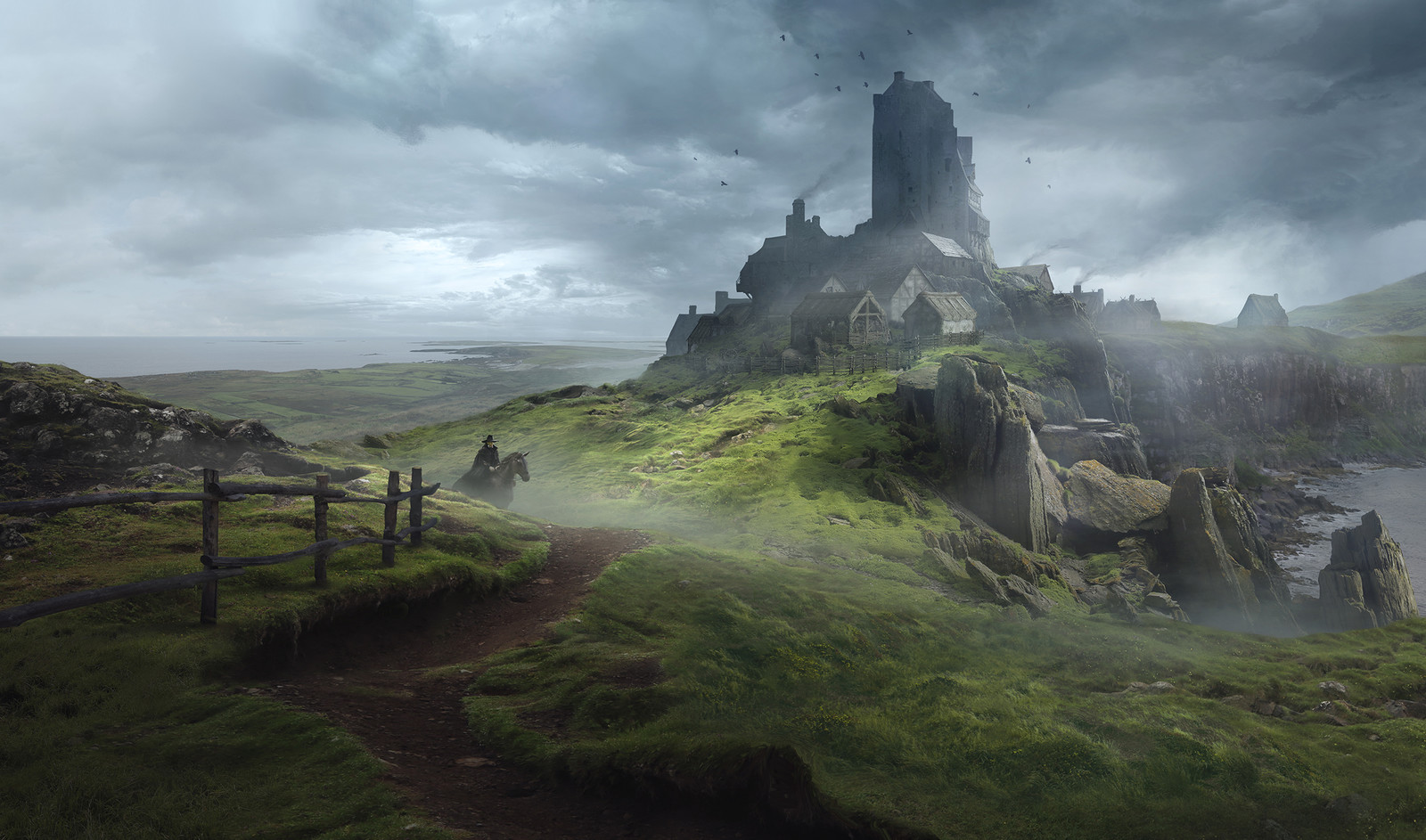 Solomon Kane - England Landscapes
