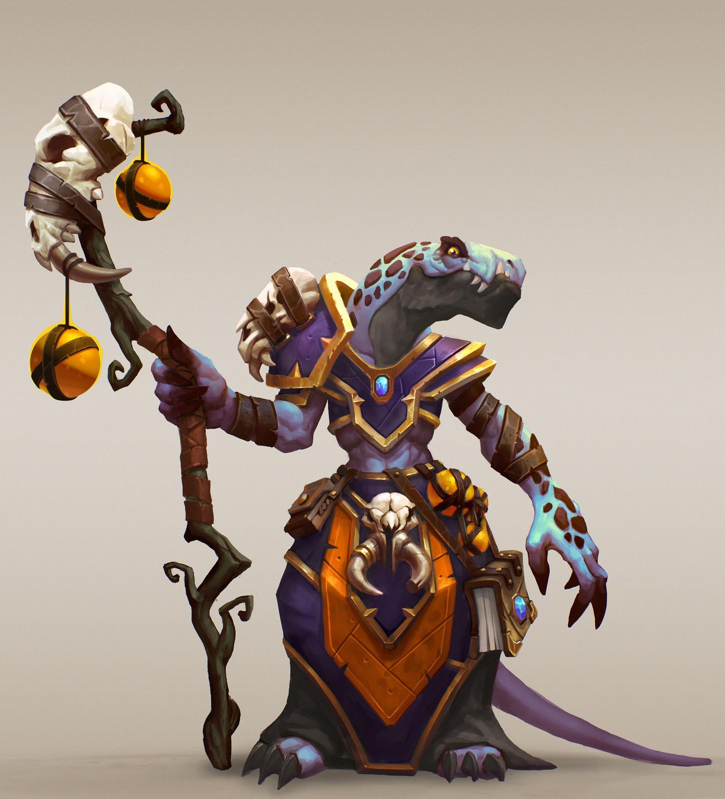 Warlock Lizardman