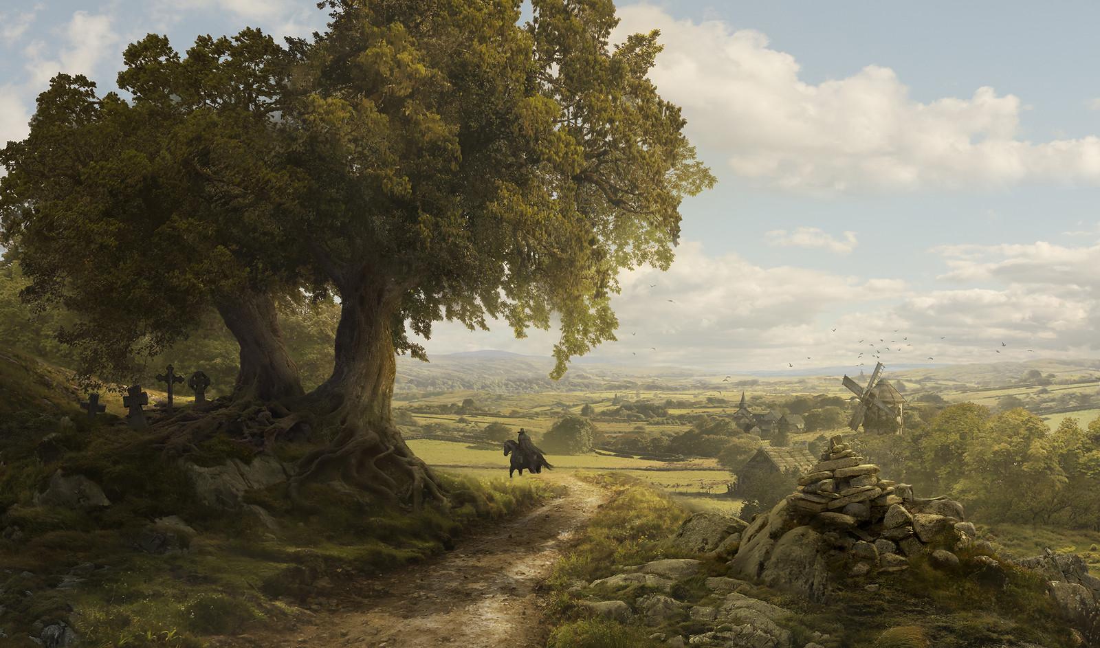 Solomon Kane - France Landscape