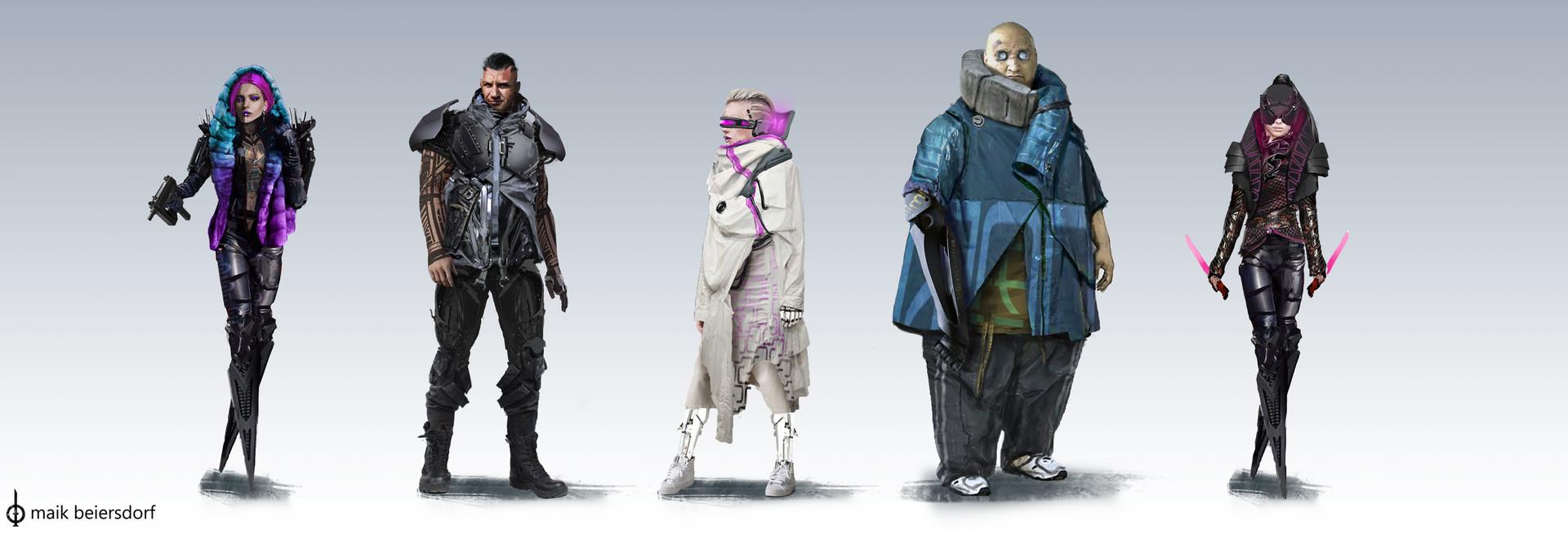 Maik beiersdorf character designs variation