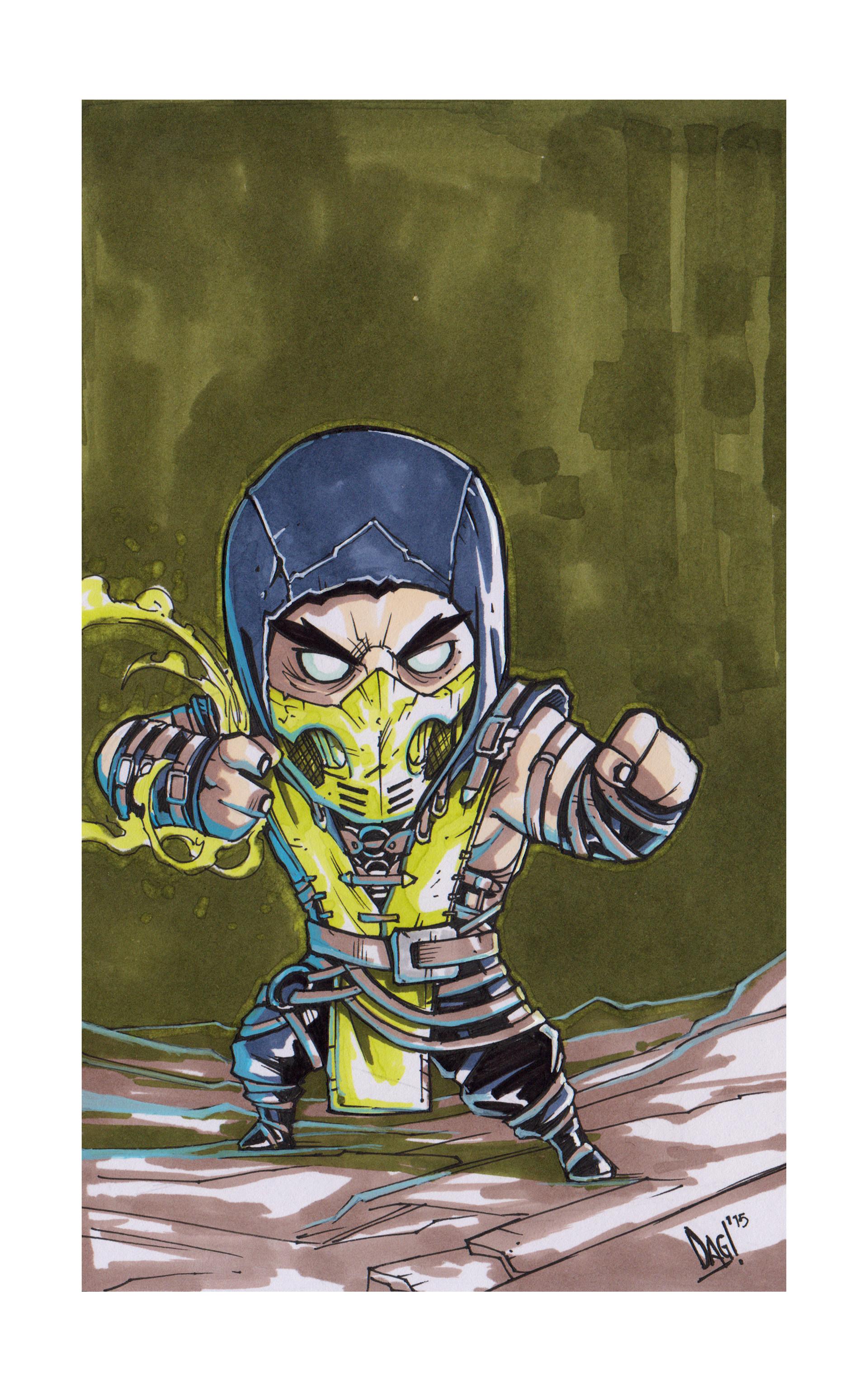 Damian grx scorpion