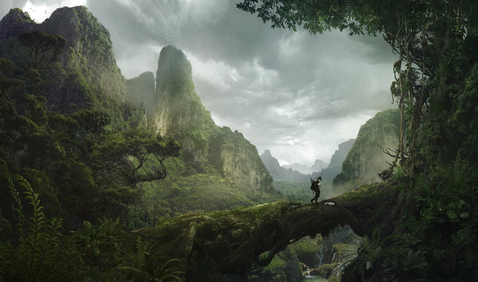 Solomon Kane - Africa Landscape