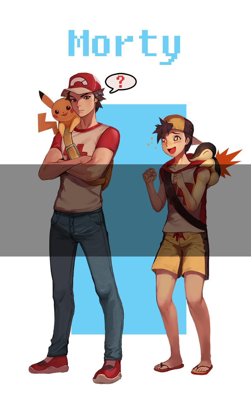Pokemon Red Artwork