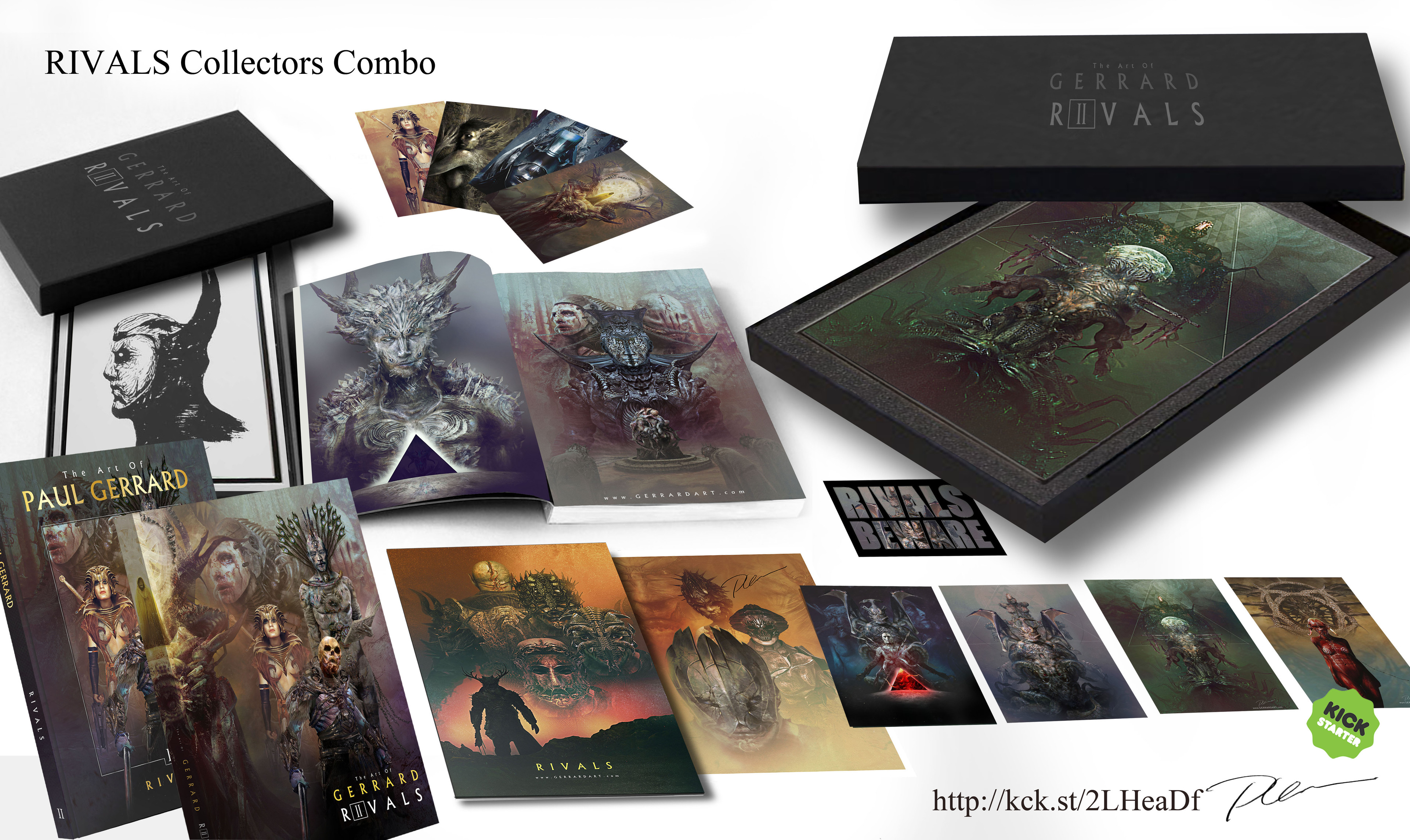 THE COLLECTORS COMBO Edition. http://kck.st/2LHeaDf