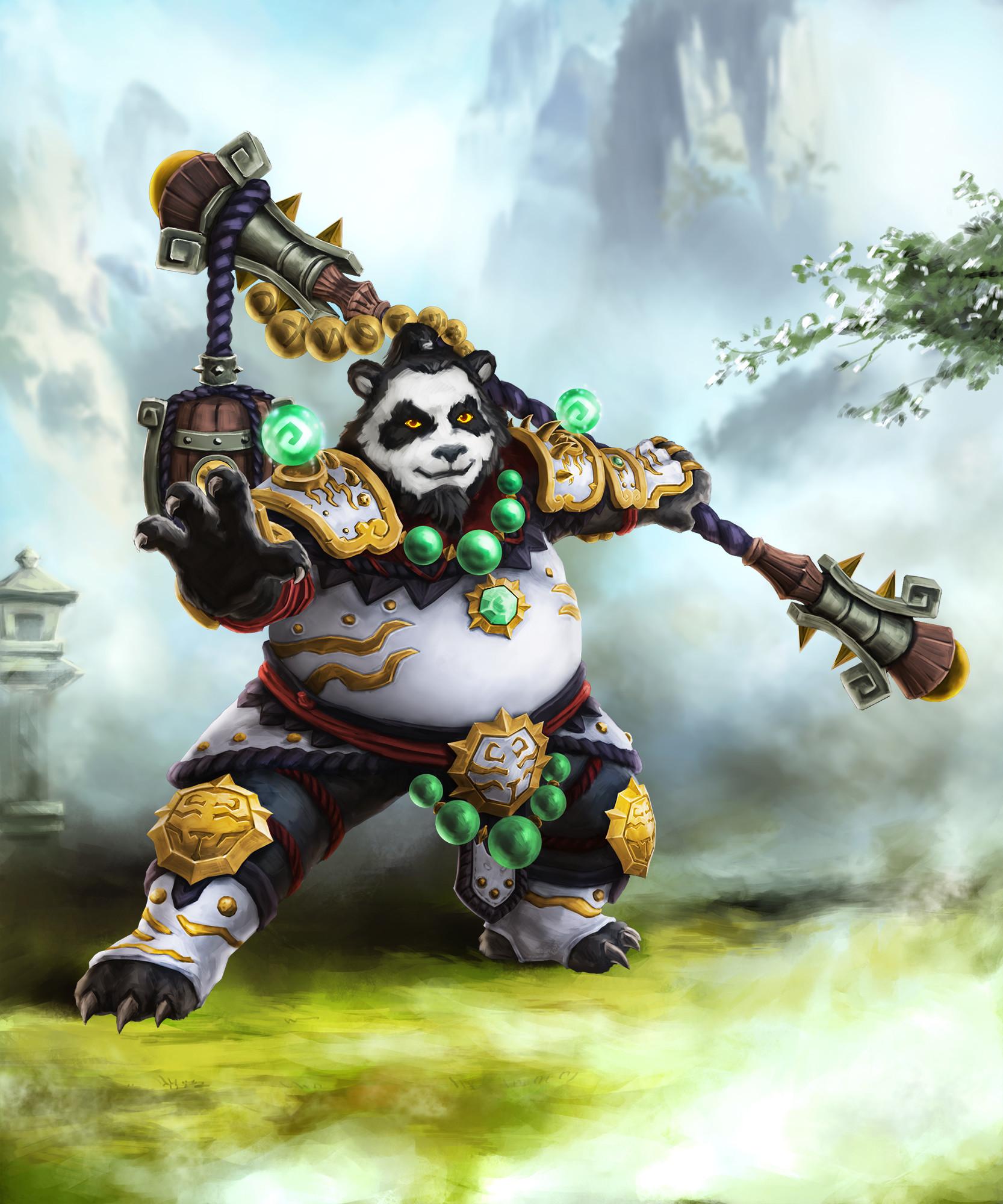 ArtStation - Monk-pandaren, Silent Hsu