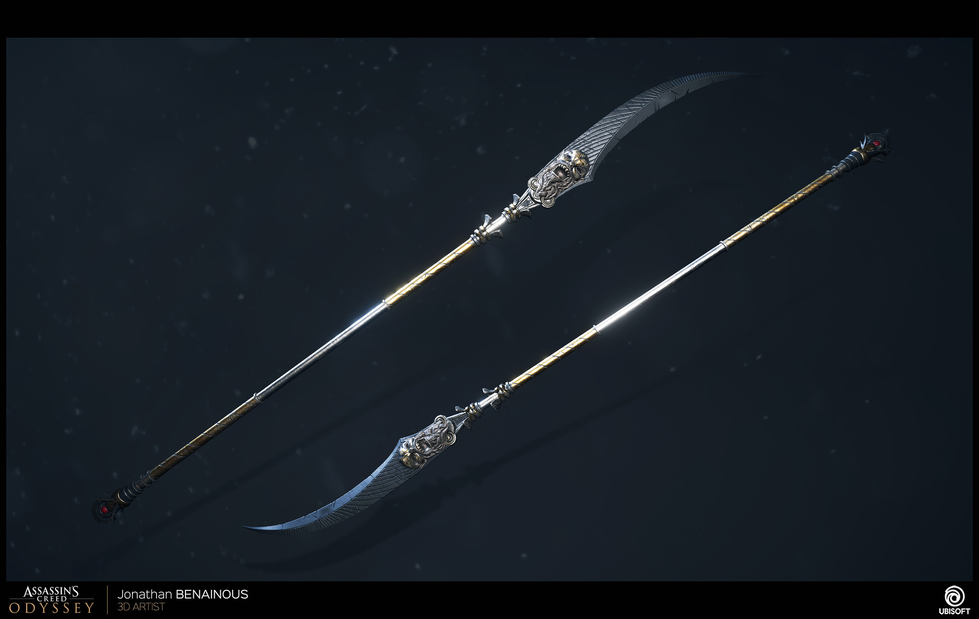 ArtStation - Assassin's Creed Odyssey - Weapon Creation - by