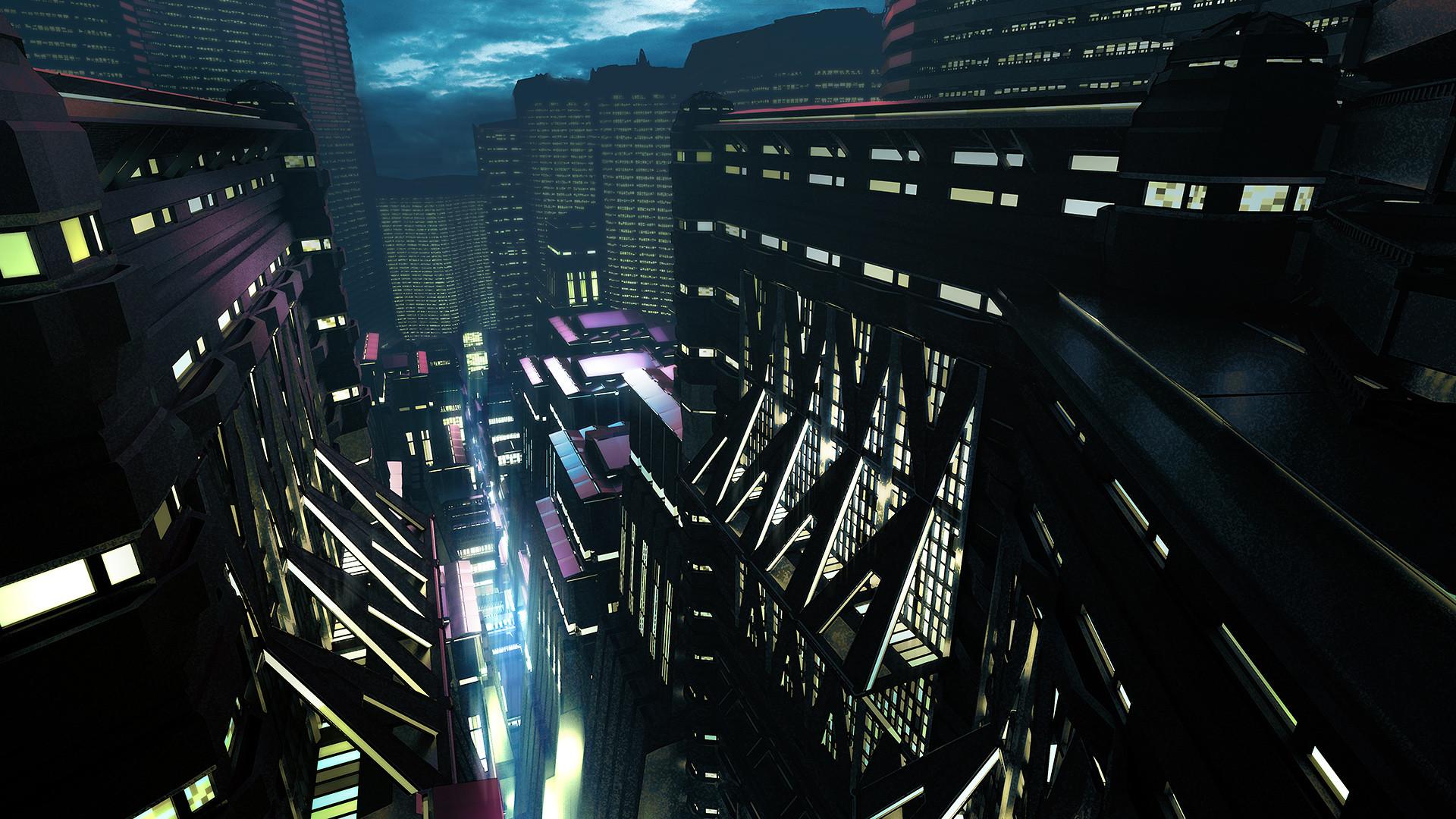 Jack eaves scifi city 06