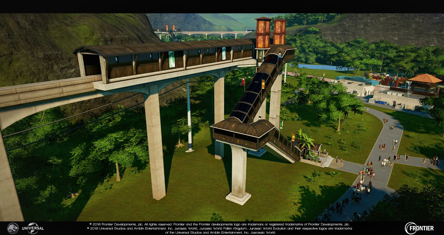 Monorail Station Responsible for: - Modelling - Unwrapping/texturing - Damage (excluding particles) - Foliage changes - Lighting updates