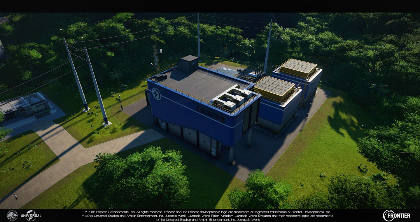 Medium Powerstation Responsible for: - Blockout - Prefab additions (such as vents etc...) - Modelling - Unwrapping/texturing - Damage (excluding particles) - Lighting updates
