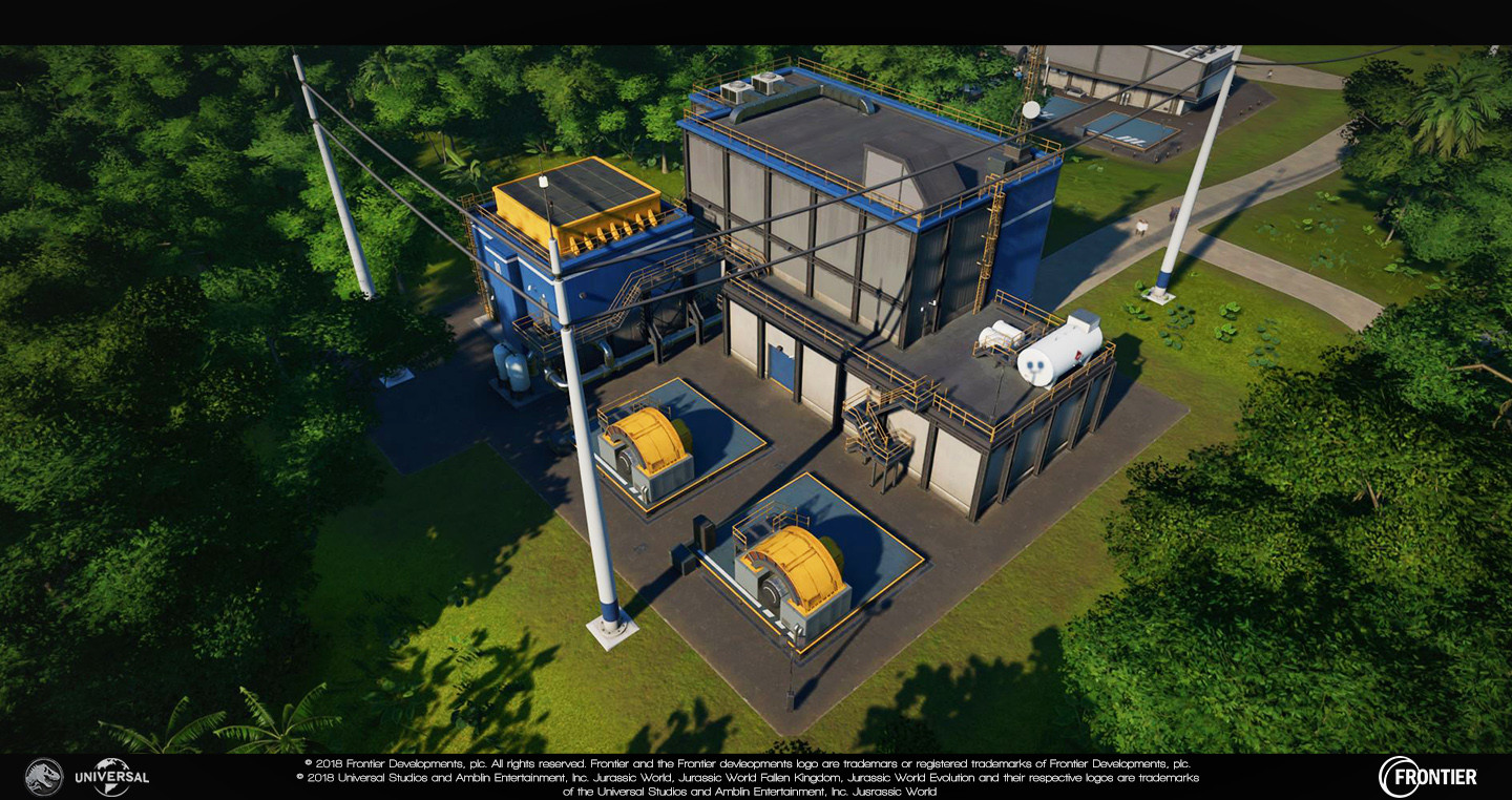Small Powerstation Responsible for: - Blockout - Prefab additions (such as vents etc...) - Modelling - Unwrapping/texturing - Damage (excluding particles) - Lighting updates