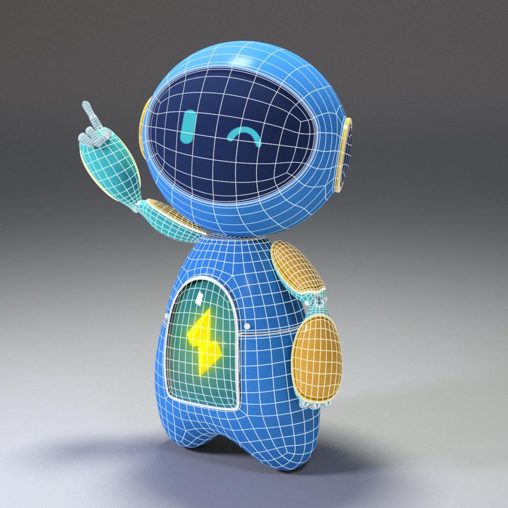 Lauren morrison robot wireframe