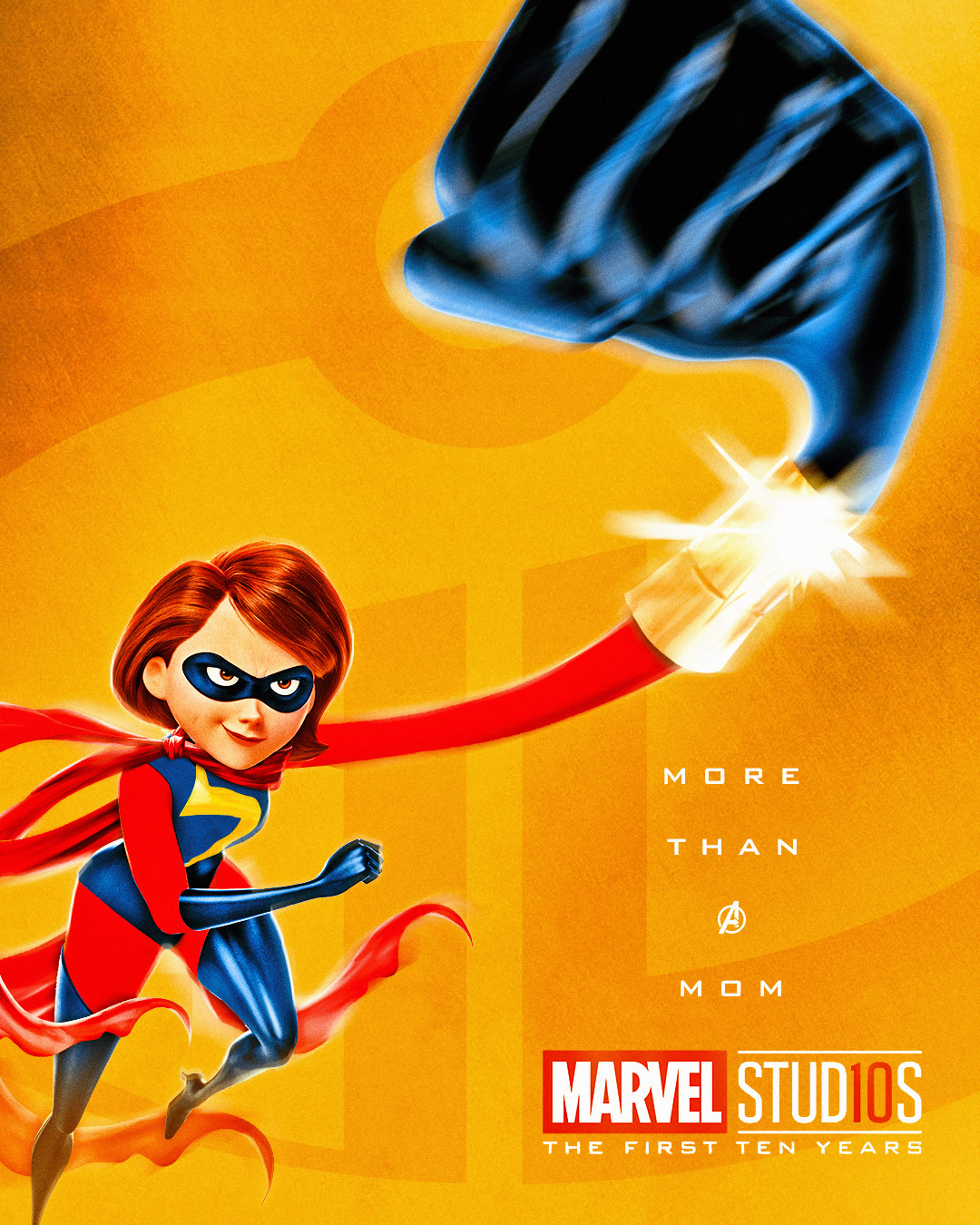Elastigirl x Ms. Marvel