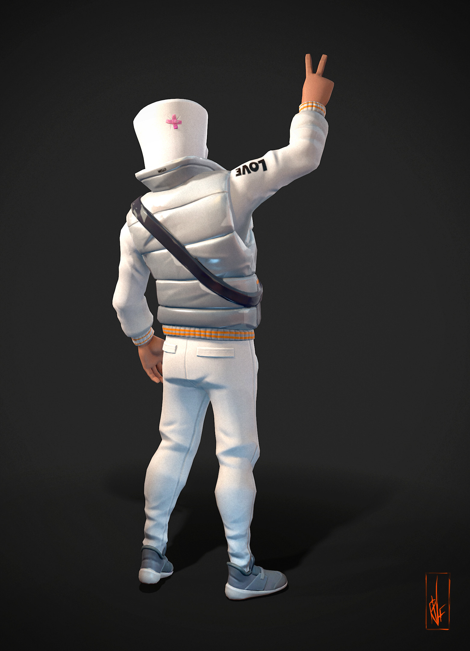 Rob Ferrao - Fortnite Marshmello Skin