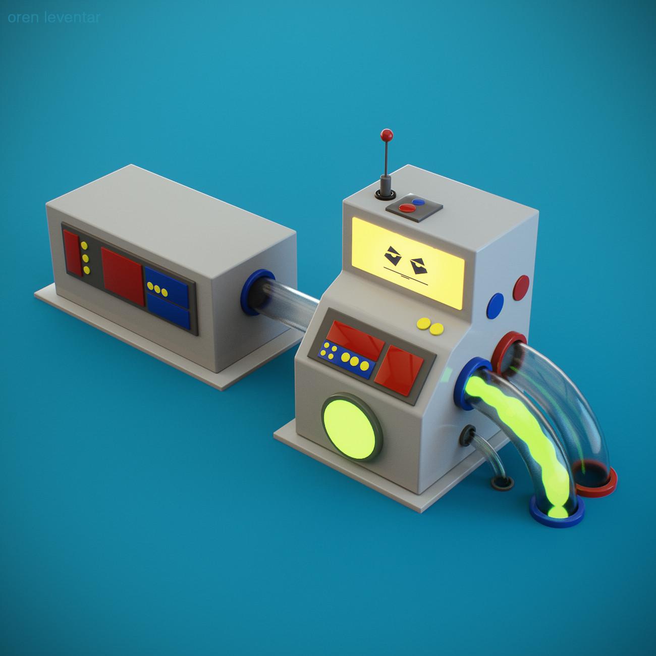 Oren leventar little machine01 web