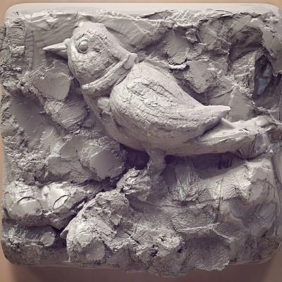 Surajit sen surajit sen bird rough sculpt surajitsen ins