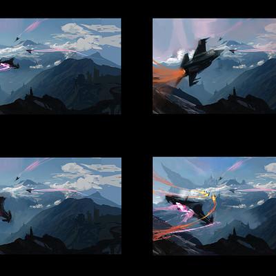 Temarius walker jet landscape 03