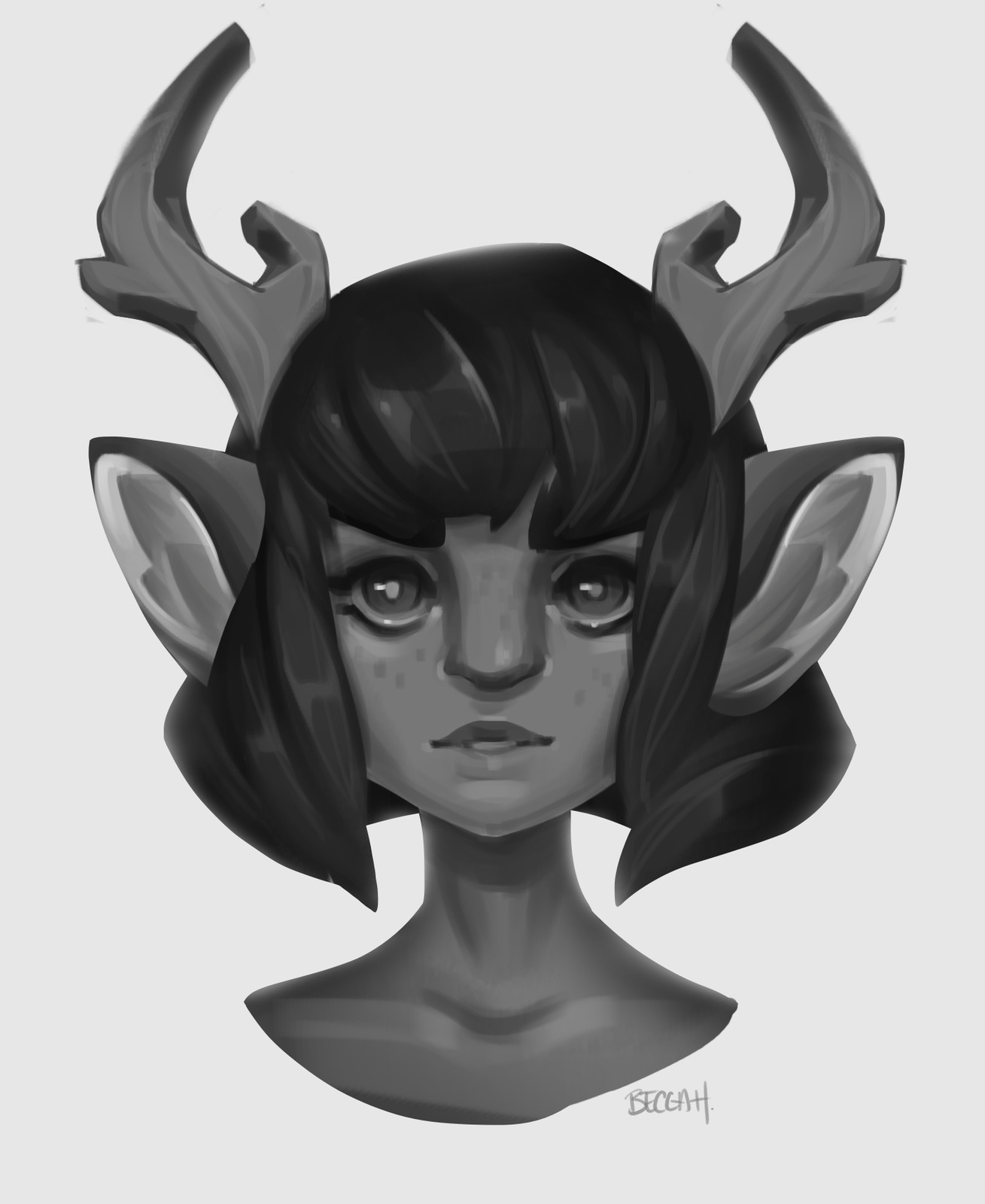 Faun Gal (timelapse on Patreon)