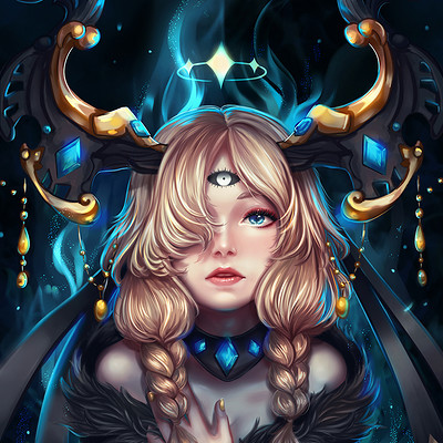 Nathania h did you summon me commission for banifi by enmoire