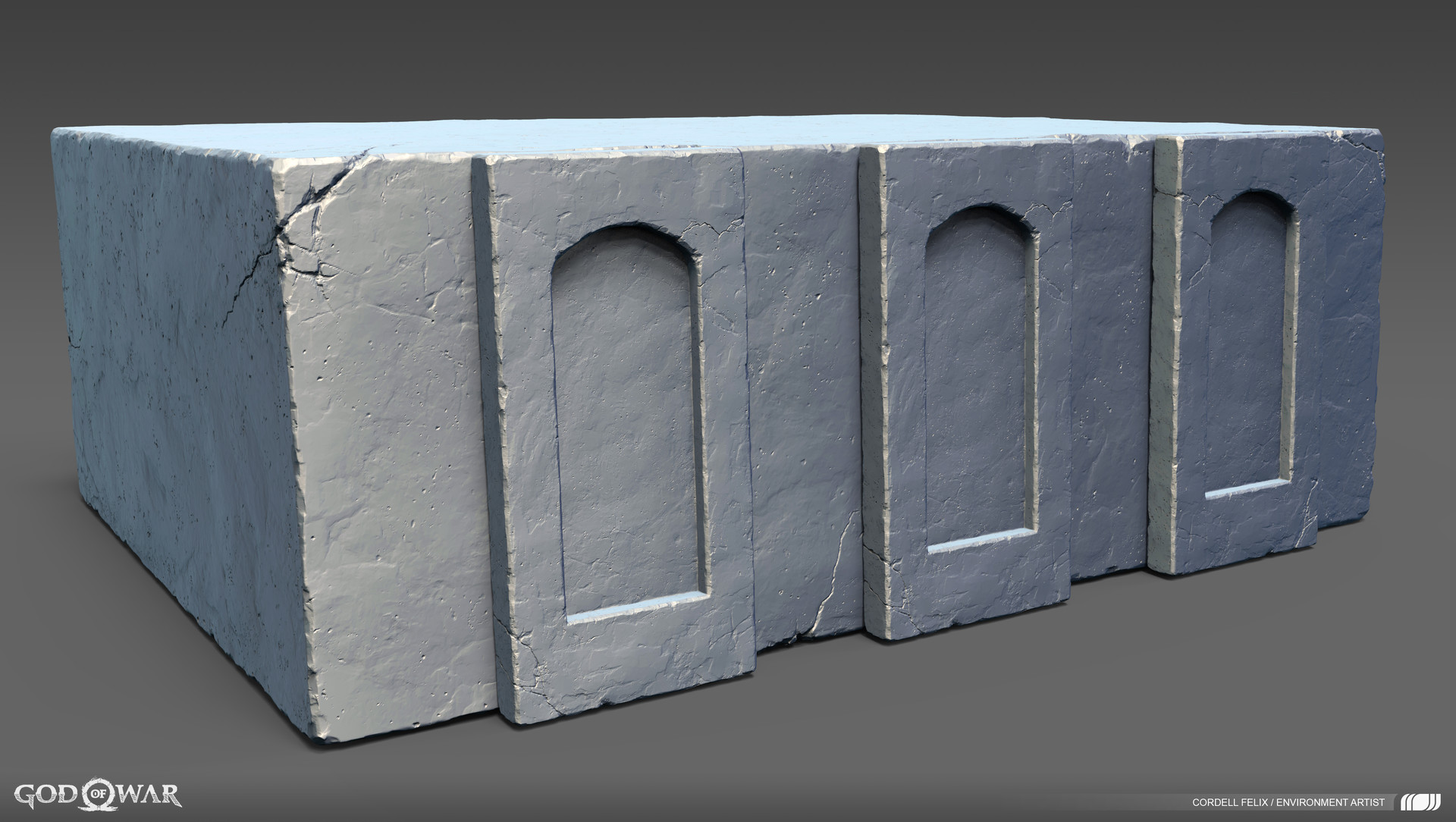 Cordell felix stone structure base 01
