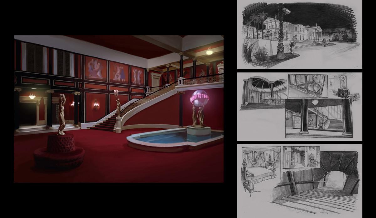 . ArtStation   Scarface game concept art  Dejan Ostojic