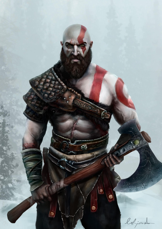 Alejandro Castillejo Kratos God Of War 4