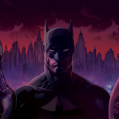 Saut irianto manik batman catwoman joker jim lee fc6