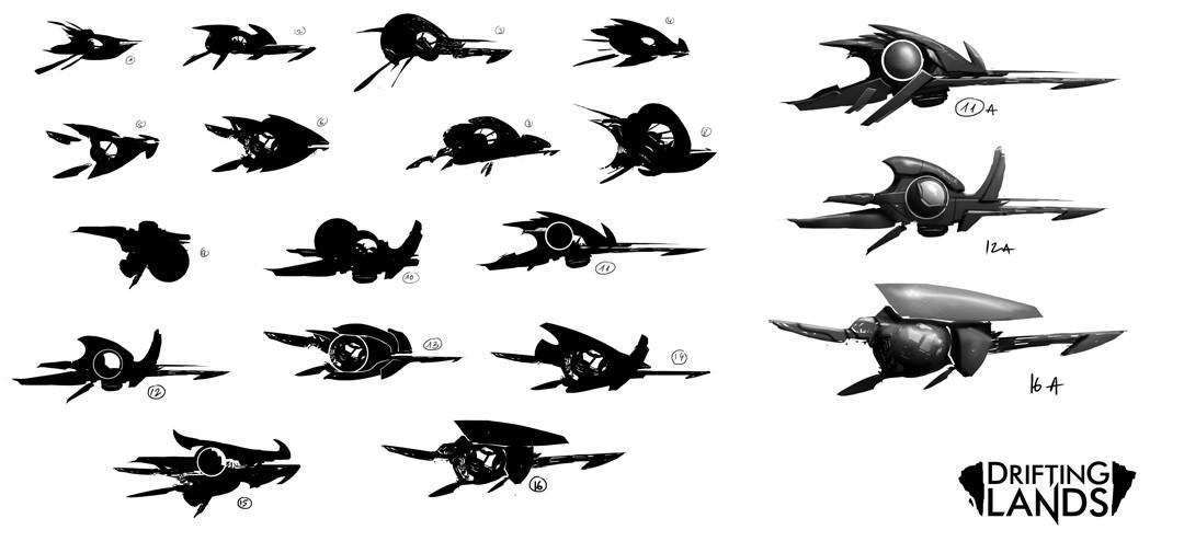 Concept art for the Interceptor