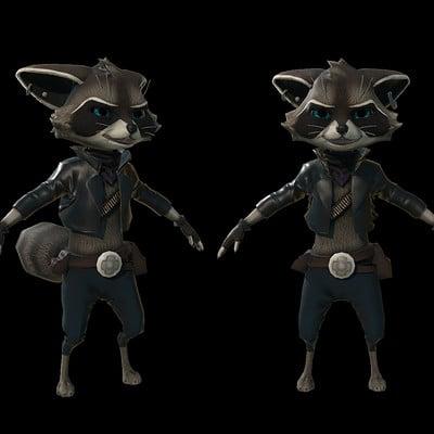 Marion penot raccoon 03