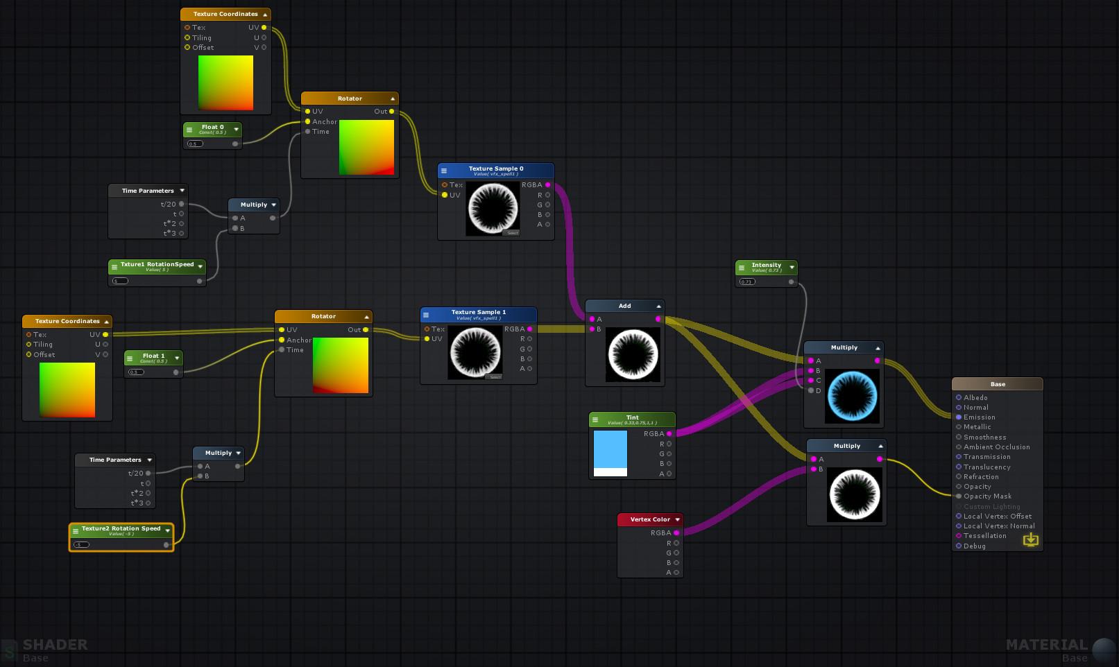 ArtStation - Magic Ice and Fire VFX on Unity, Eduardo Wagener