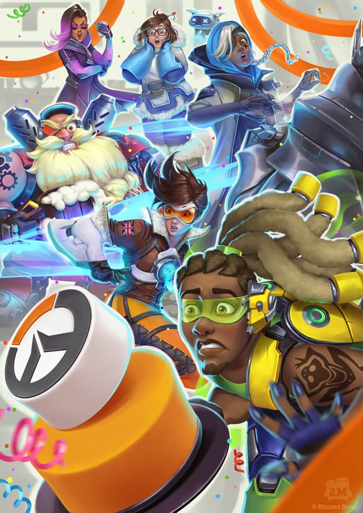 Overwatch Anniversary - Blizzard Brasil