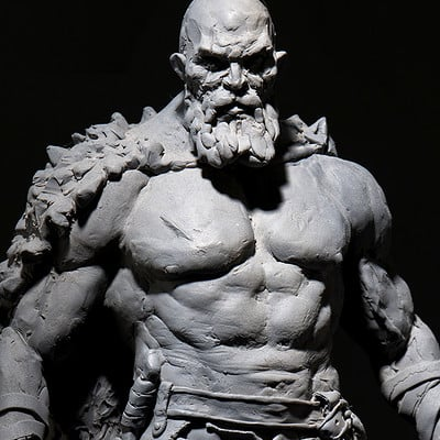 God of War Maquettes