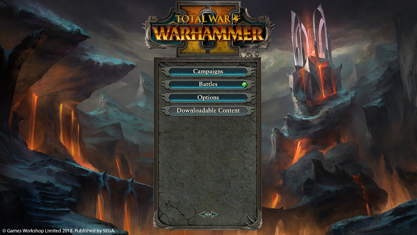 Main Menu with UI