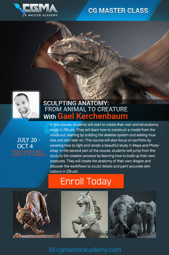 https://www.cgmasteracademy.com/courses/94-sculpting-anatomy-from-animal-to-creature